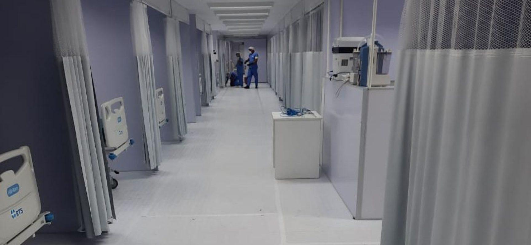 Hospital de Campanha em Itabuna inicia operação com 40 leitos para Covid-19 na próxima terça