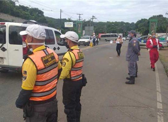 Ilhéus: Blitzes fiscalizam cumprimento do decreto que suspende transportes intermunicipais