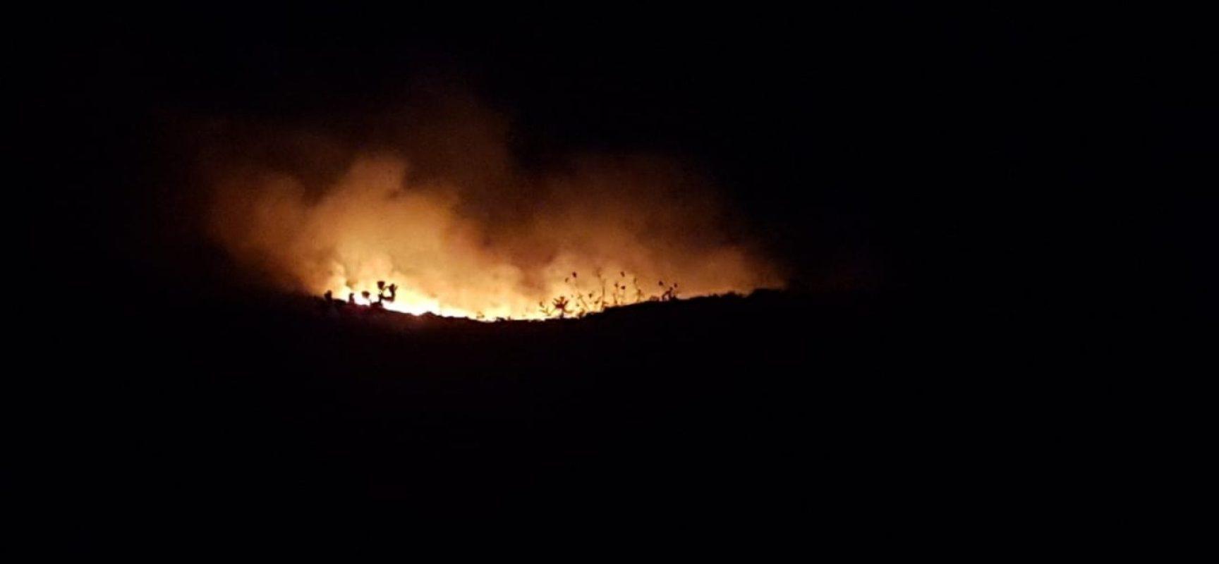 Incêndio atinge região de Lençóis, na Chapada Diamantina