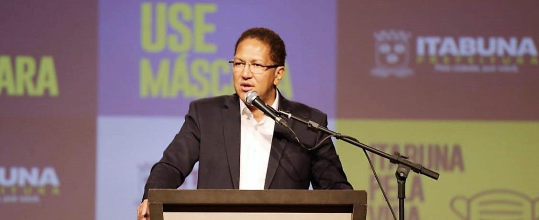 Itabuna vai ganhar Central de Distribuição, diz Augusto Castro em coletiva de imprensa
