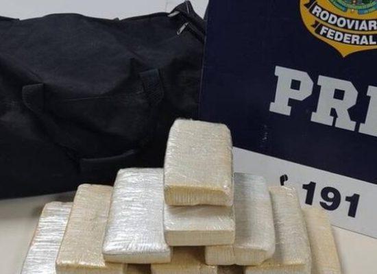 Mulher é presa com 11 kg de pasta base de cocaína na Bahia