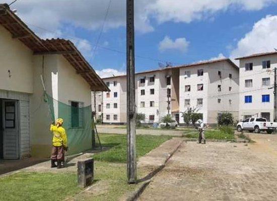 Mutirões de limpeza são realizados em Ilhéus pelas equipes de serviços urbanos