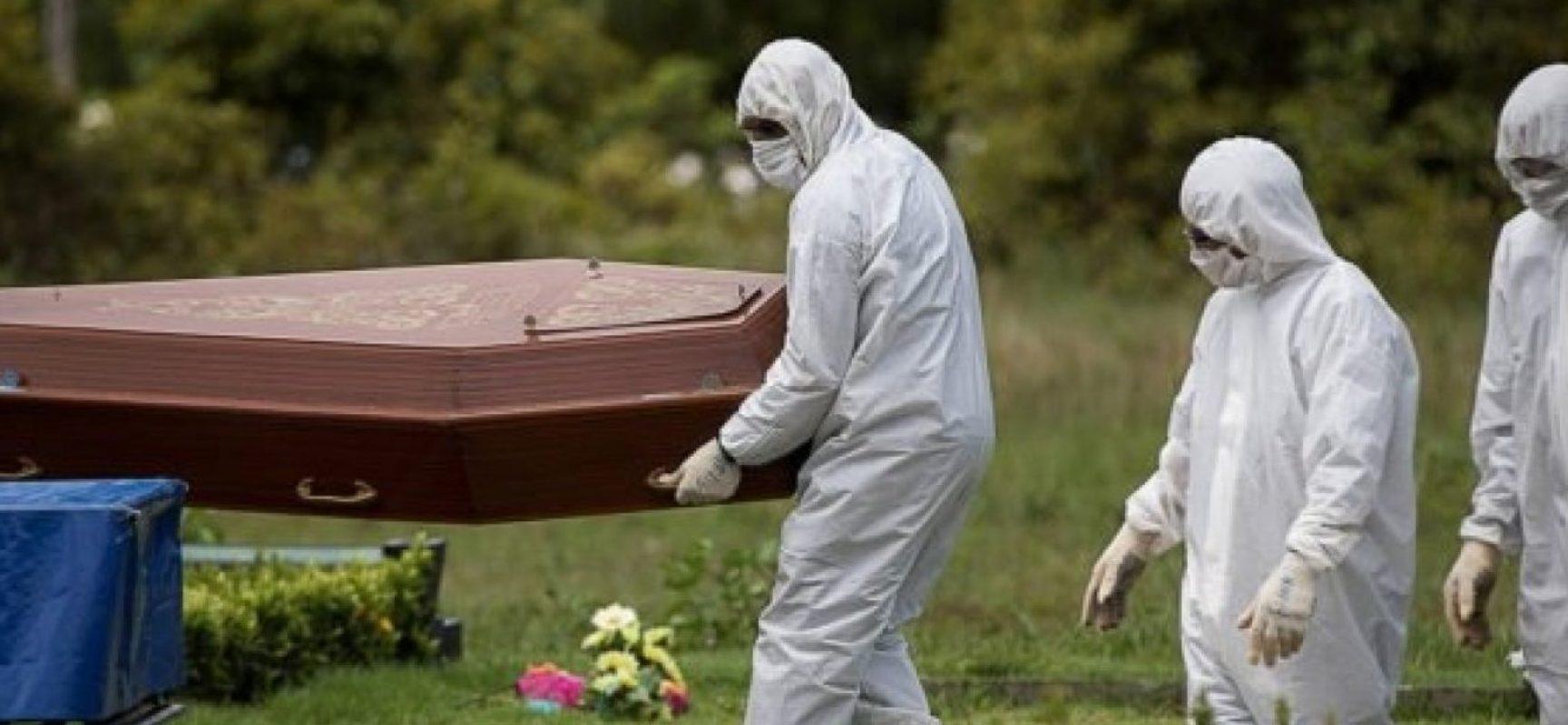 Na contramão do mundo, Brasil tem maior alta de mortes por Covid-19