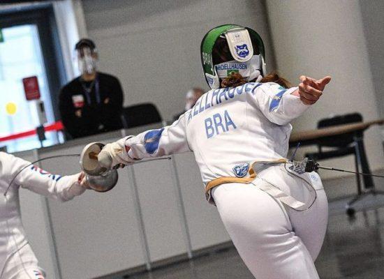 Nathalie Moellhausen é nona colocada no mundial e se garante em Tóquio