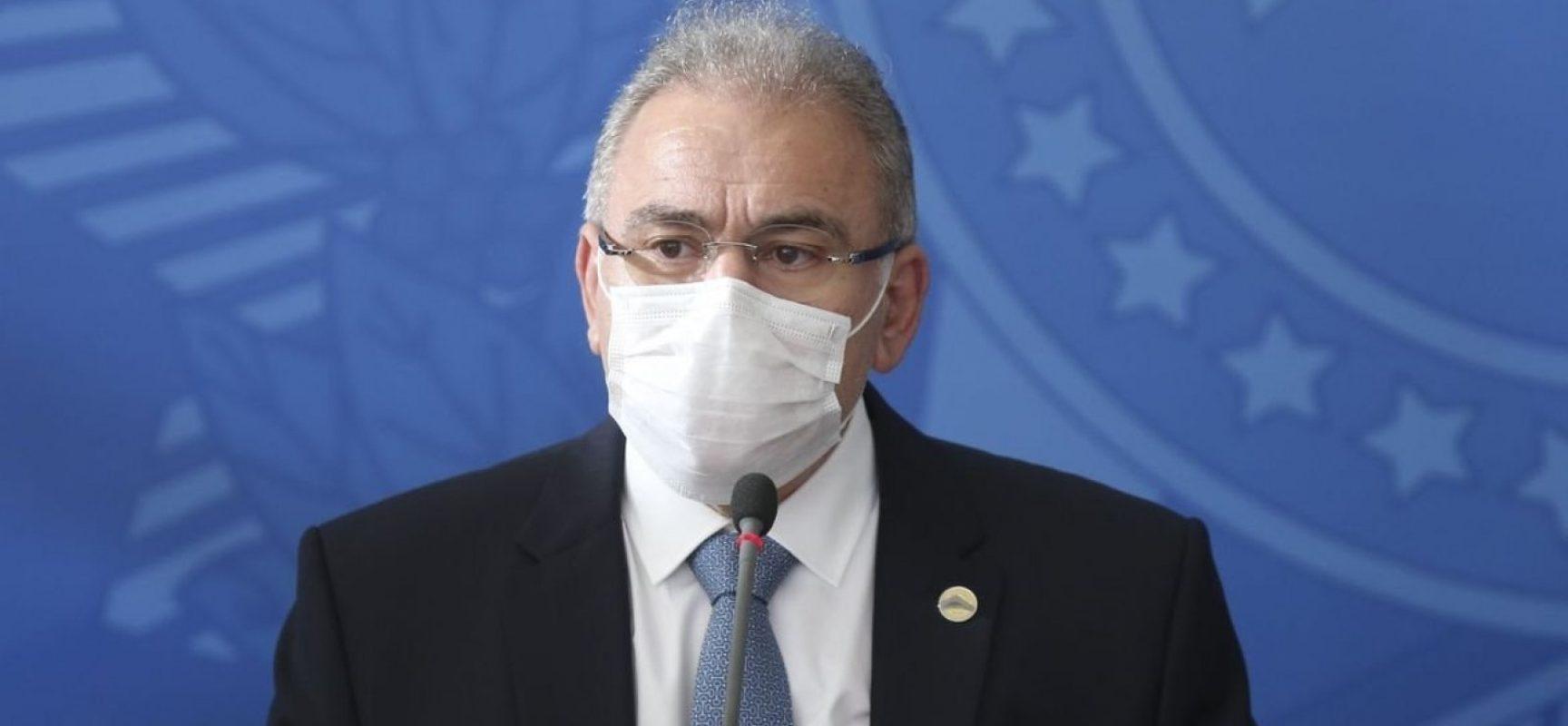 Novo ministro da Saúde pede que brasileiros usem máscara: 'Agora é pátria de máscara'