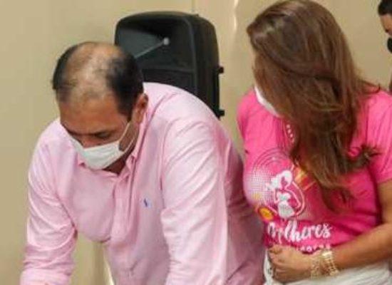 Prefeito assina termo de compromisso para profissionalizar mulheres assistidas pelo CRAS