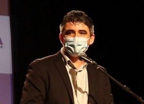 Presidente da Amurc destaca a importância do hospital de campanha para a região, em visita técnica