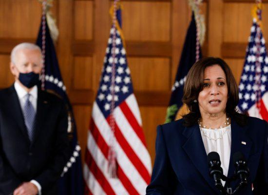 Rodrigo Pacheco solicita vacinas estocadas à vice-presidente dos EUA