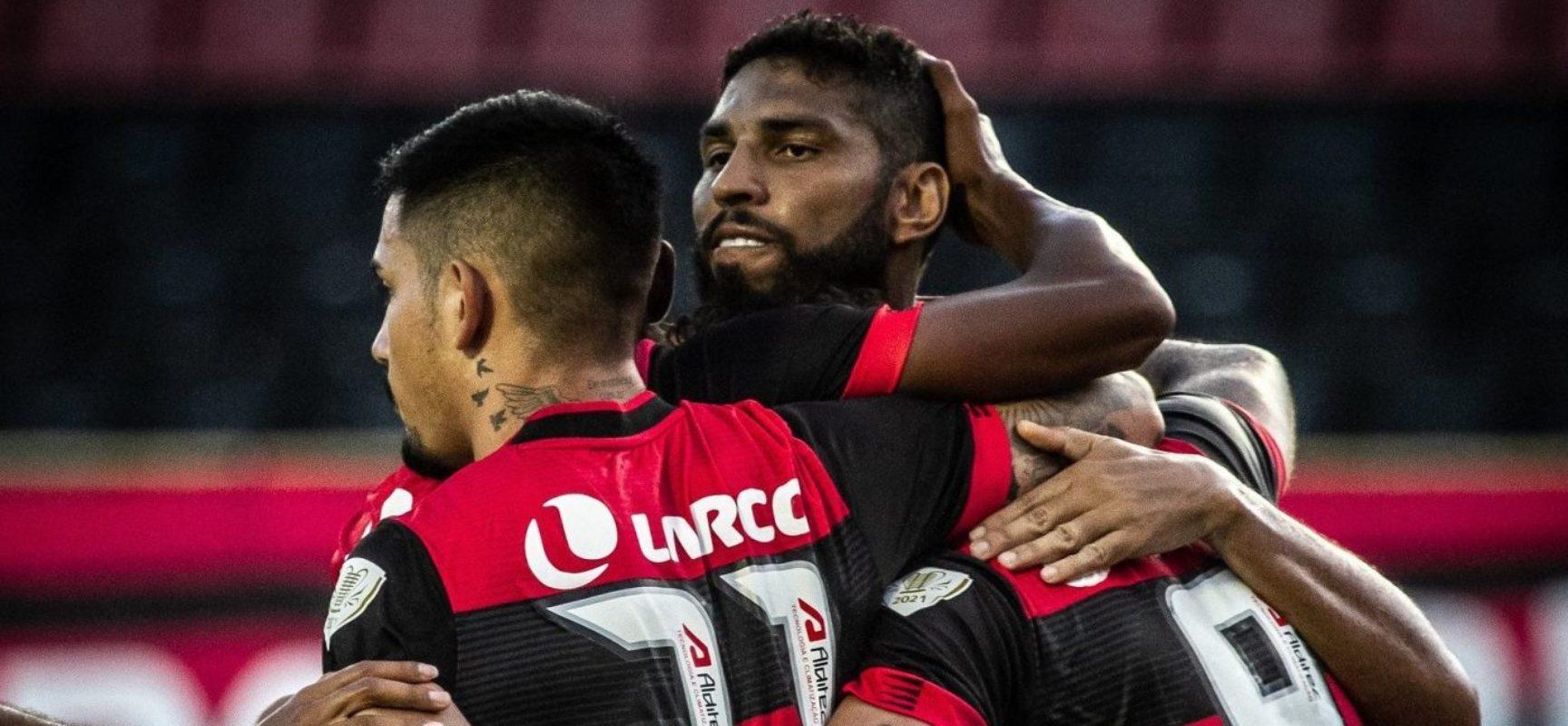 Vitória arranca empate em 1 a 1 com o CRB pelo Nordestão