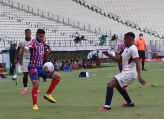 Bahia perde por 2 a 1 para o Fortaleza fora de casa