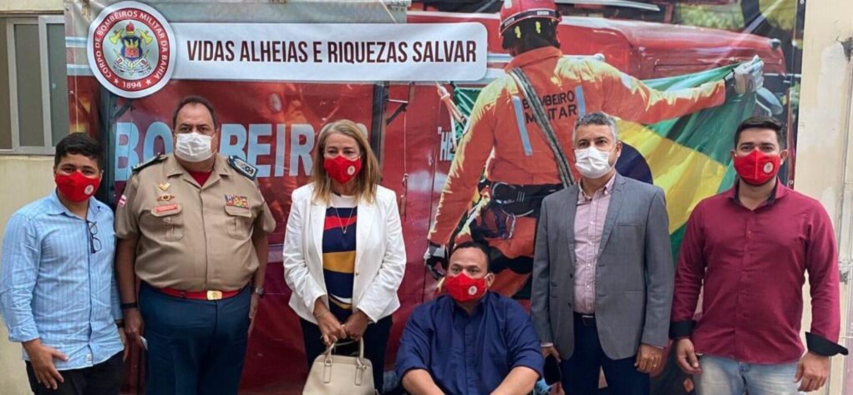 Fabíola agradece ao governo por reforço de oxigênio e ambulância UTI para região Centro-Norte