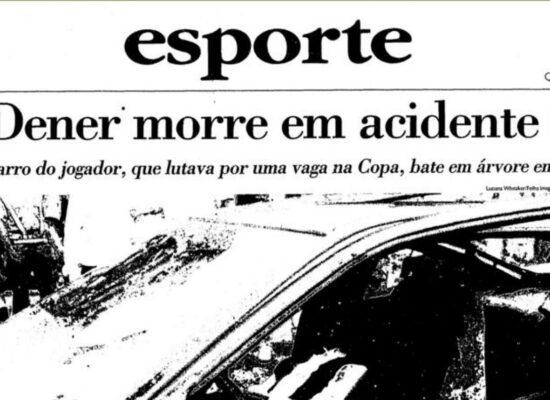 Fifa homenageia ex-craque Dener, que estaria hoje com 50 anos