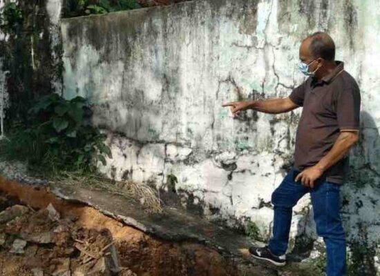 Ivo Evangelista acompanha obra que vai beneficiar moradores do Alto Nerival