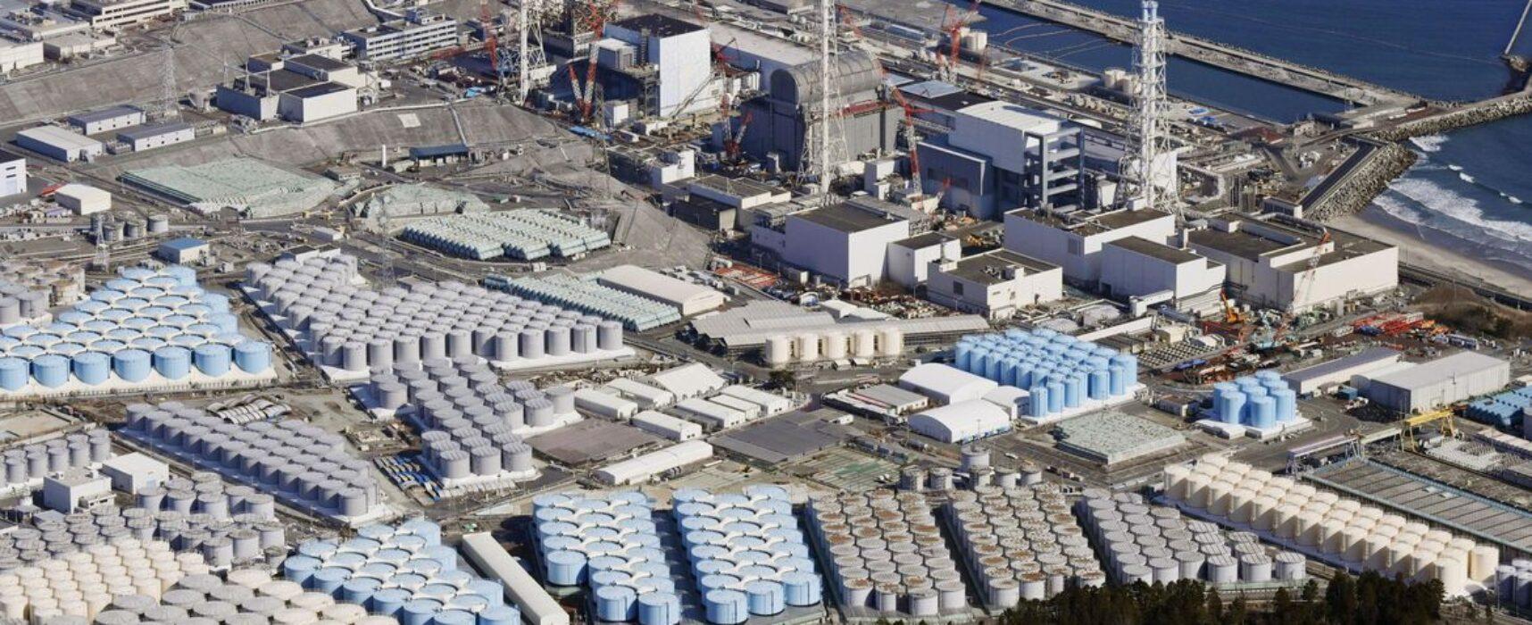 Japão liberará água contaminada de Fukushima no mar após tratamento