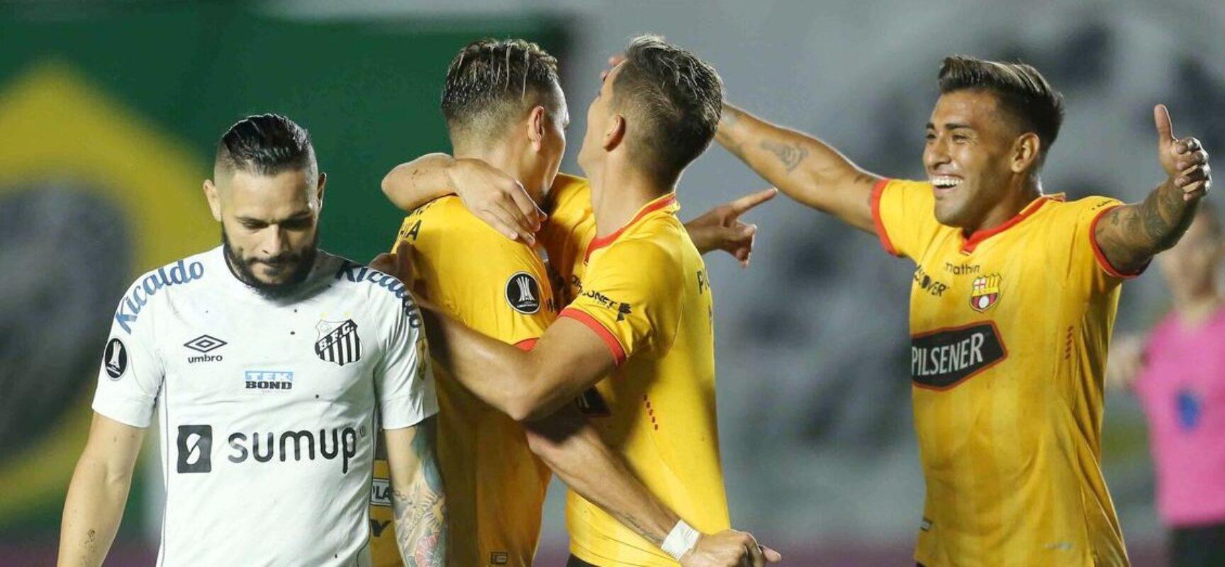 Libertadores: Santos e Inter estreiam com derrota na fase de grupos