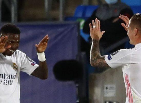 Liga dos Campeões: Vinícius Júnior brilha e Real derrota Liverpool