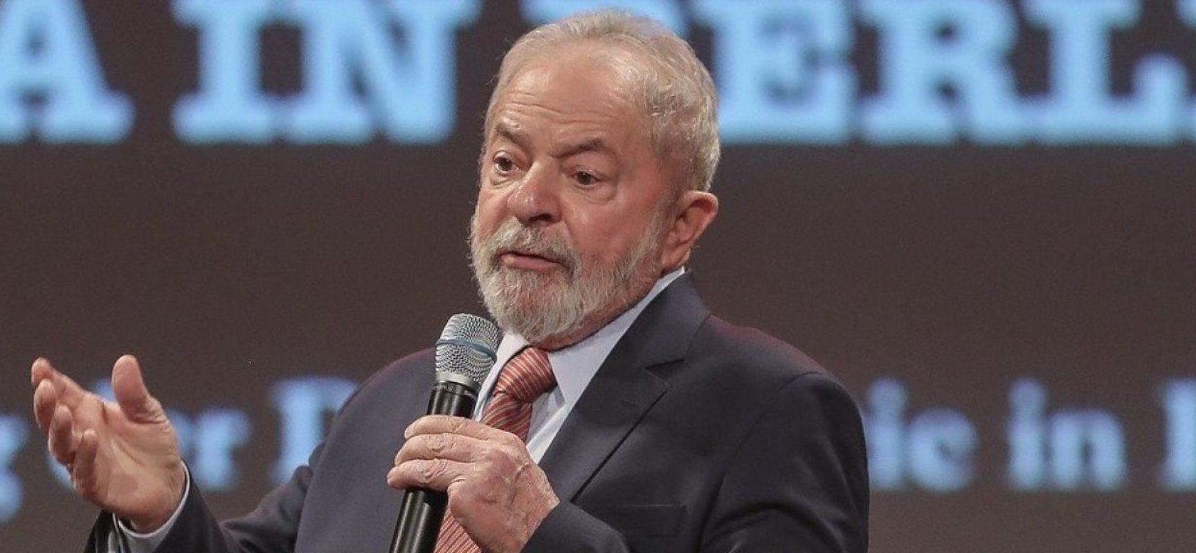 Lula pede que STF declare suspeição de Sergio Moro nos processos do sítio de Atibaia e de Instituto