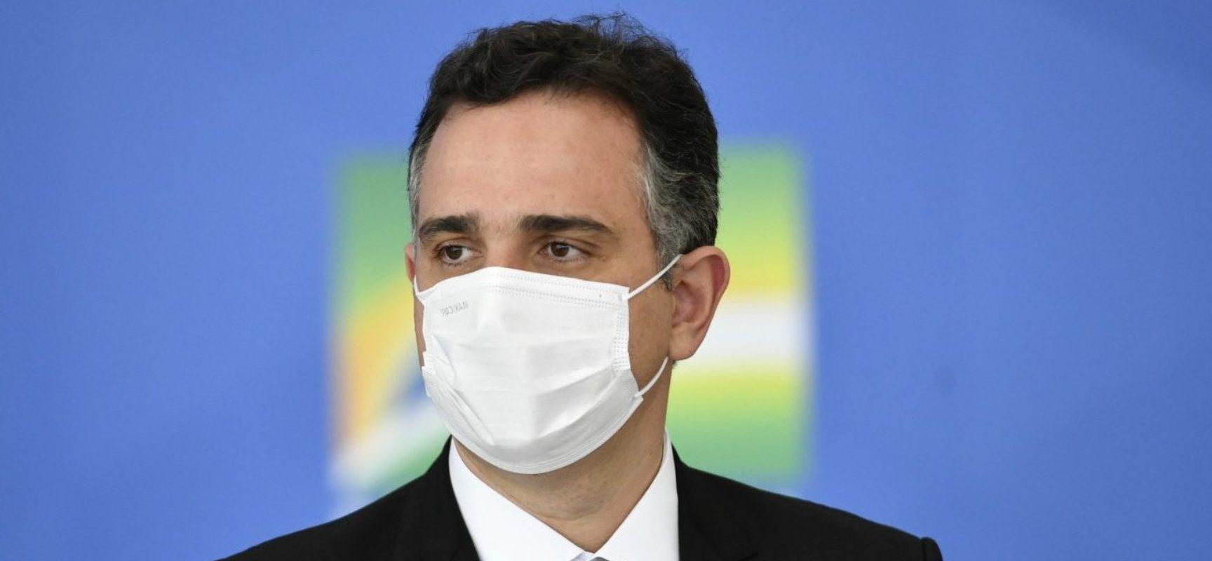 Pacheco critica 'falta de coordenação nacional' no combate à pandemia da Covid-19