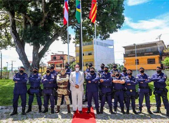 Prefeito Mário Alexandre empossa novo comandante da Guarda Municipal de Ilhéus