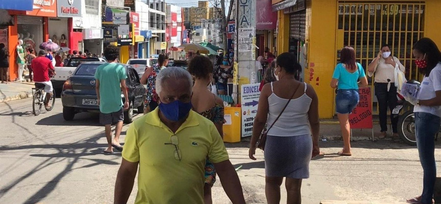 Prefeitura de Lauro de Freitas anuncia reabertura do comércio nesta segunda