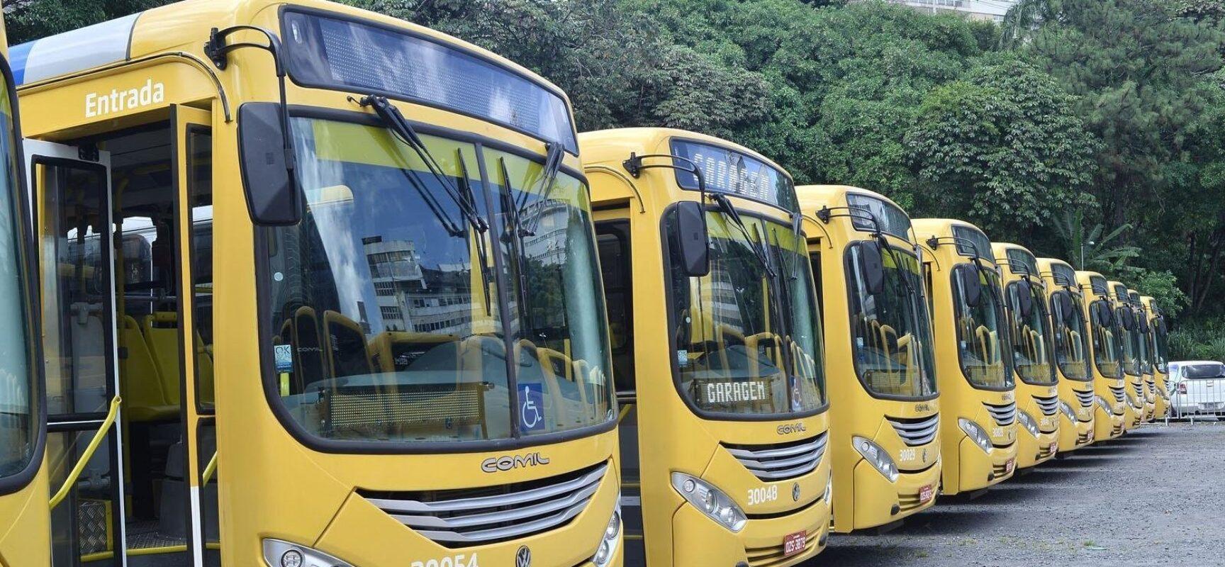 Salvador terá reforço de ônibus para volta às aulas nesta segunda-feira