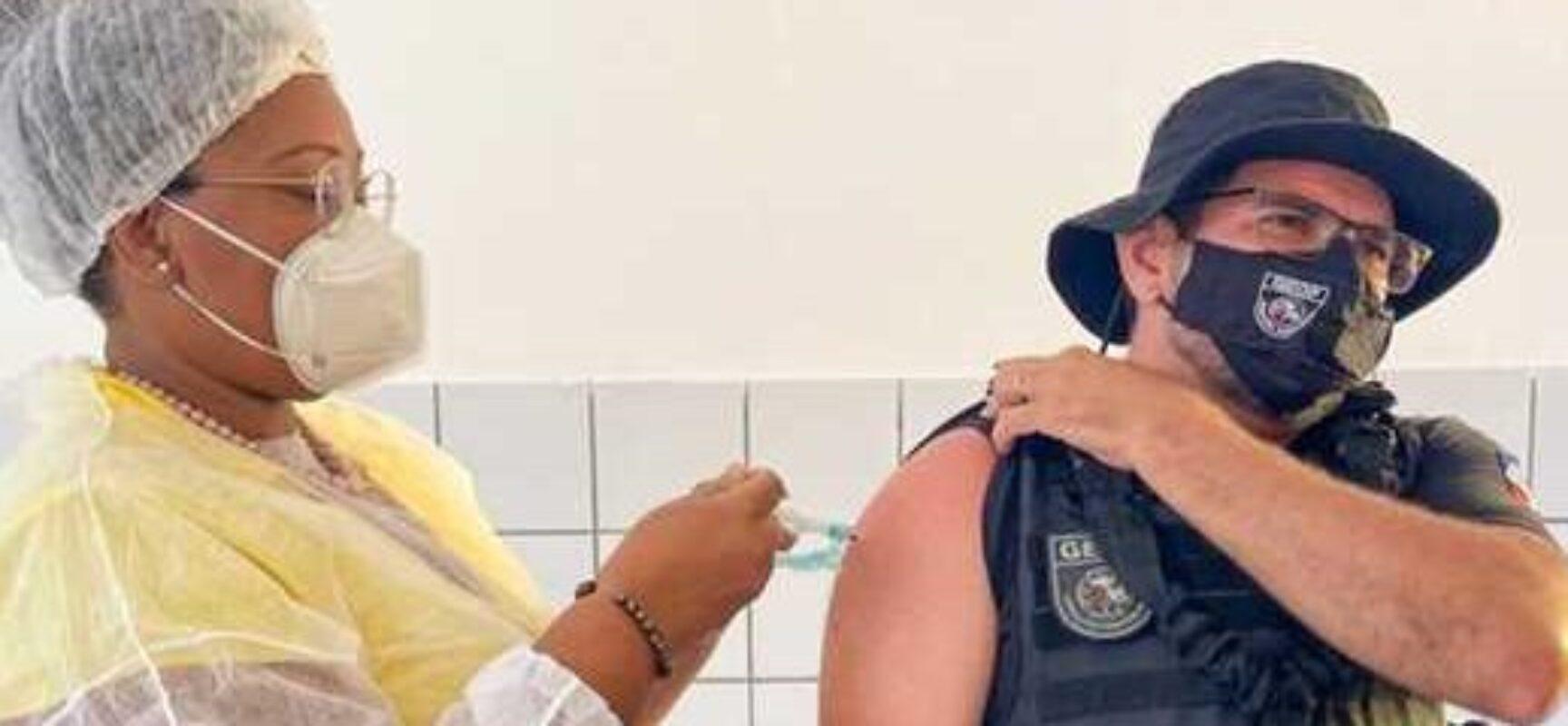 Vacinação em Ilhéus: Sesau ultrapassa 45 mil doses aplicadas contra a Covid-19
