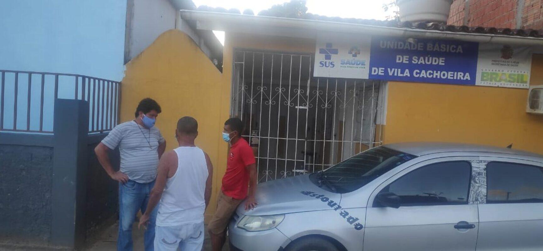 Vereador Edvaldo Gomes solicita serviços no Posto de Saúde de Vila Cachoeira
