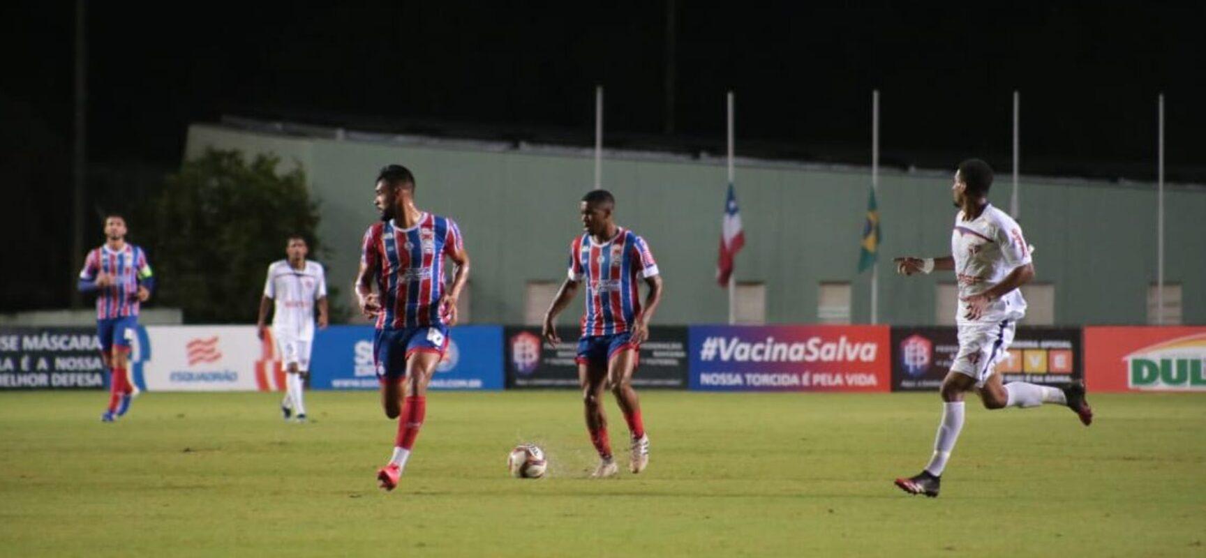 Atlético e Bahia largam na frente na semifinal do Baianão