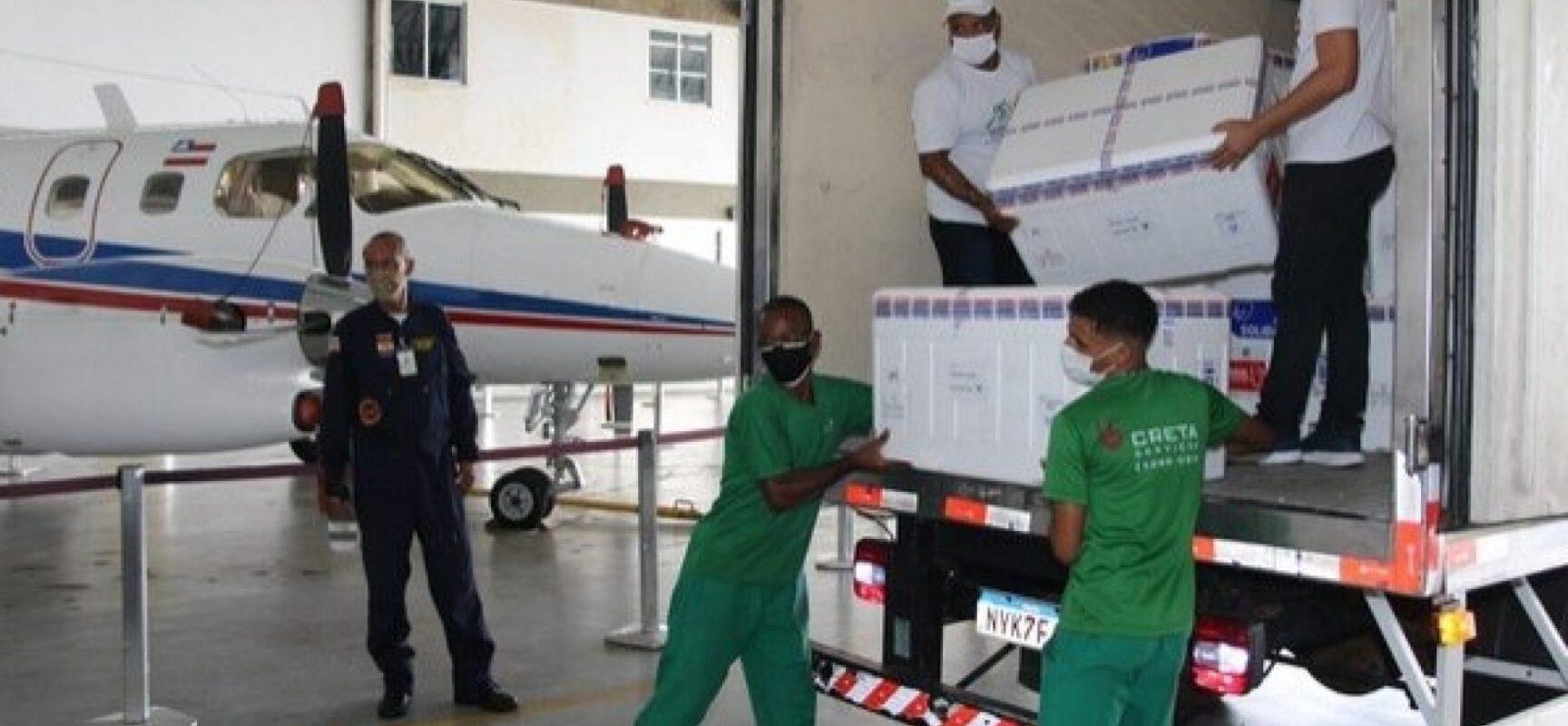 Bahia receberá mais 297.300 doses de vacina contra Covid-19 nesta terça-feira (18)