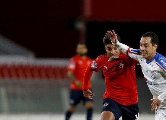 Bahia se complica na Sul-Americana com derrota para o Independiente