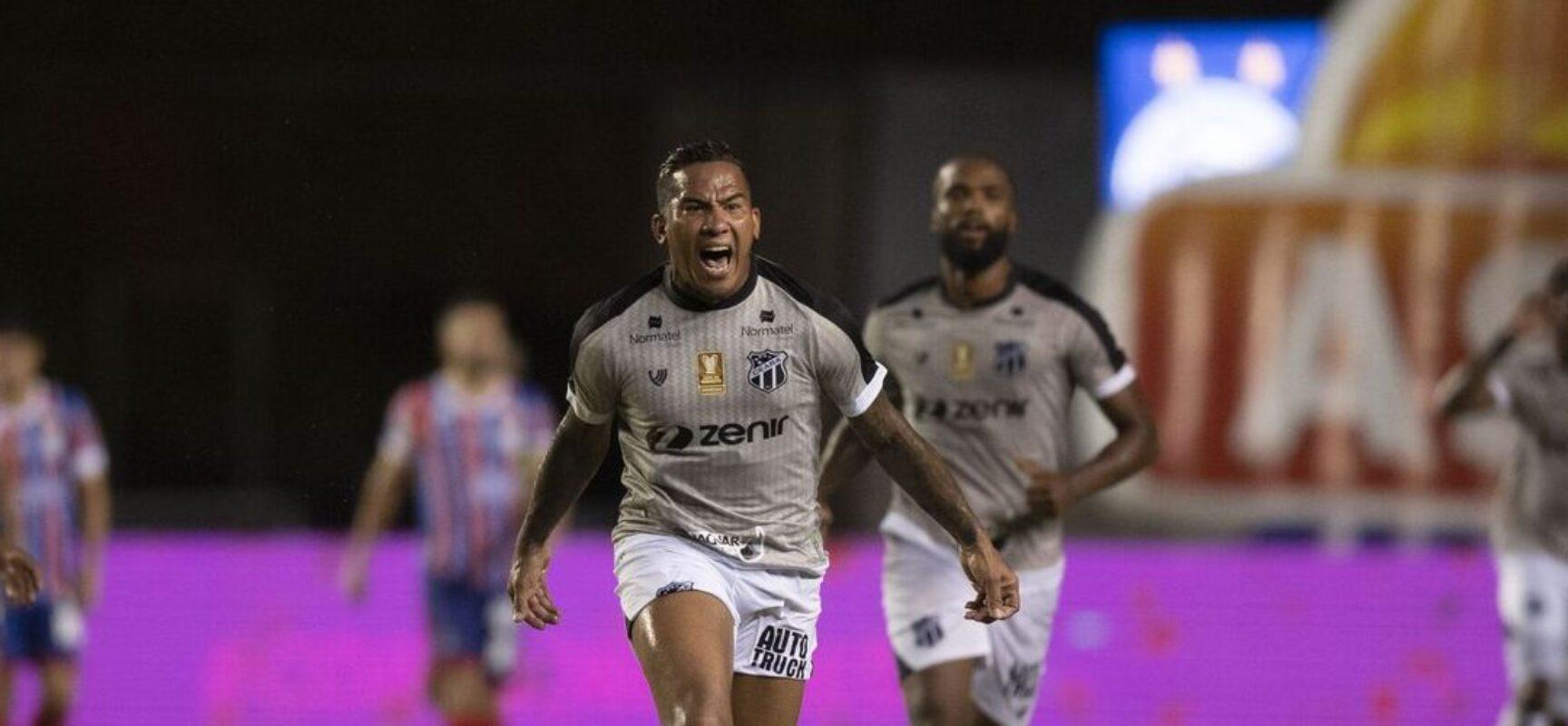 Ceará sai na frente do Bahia na final da Copa do Nordeste