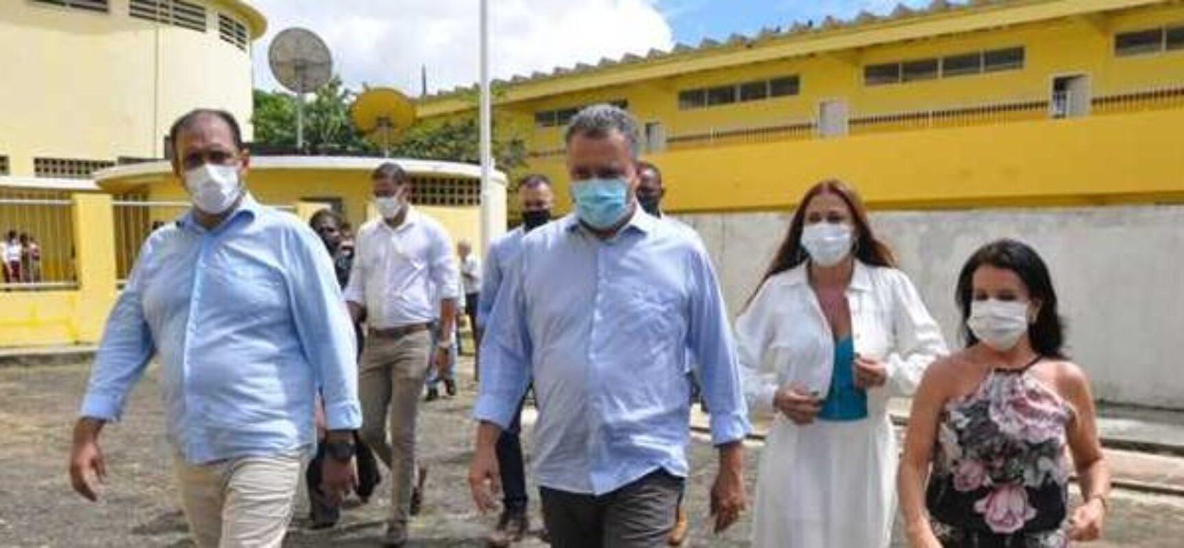 Entrega do IME e autorização de escola em tempo integral marcam visita do governador Rui Costa