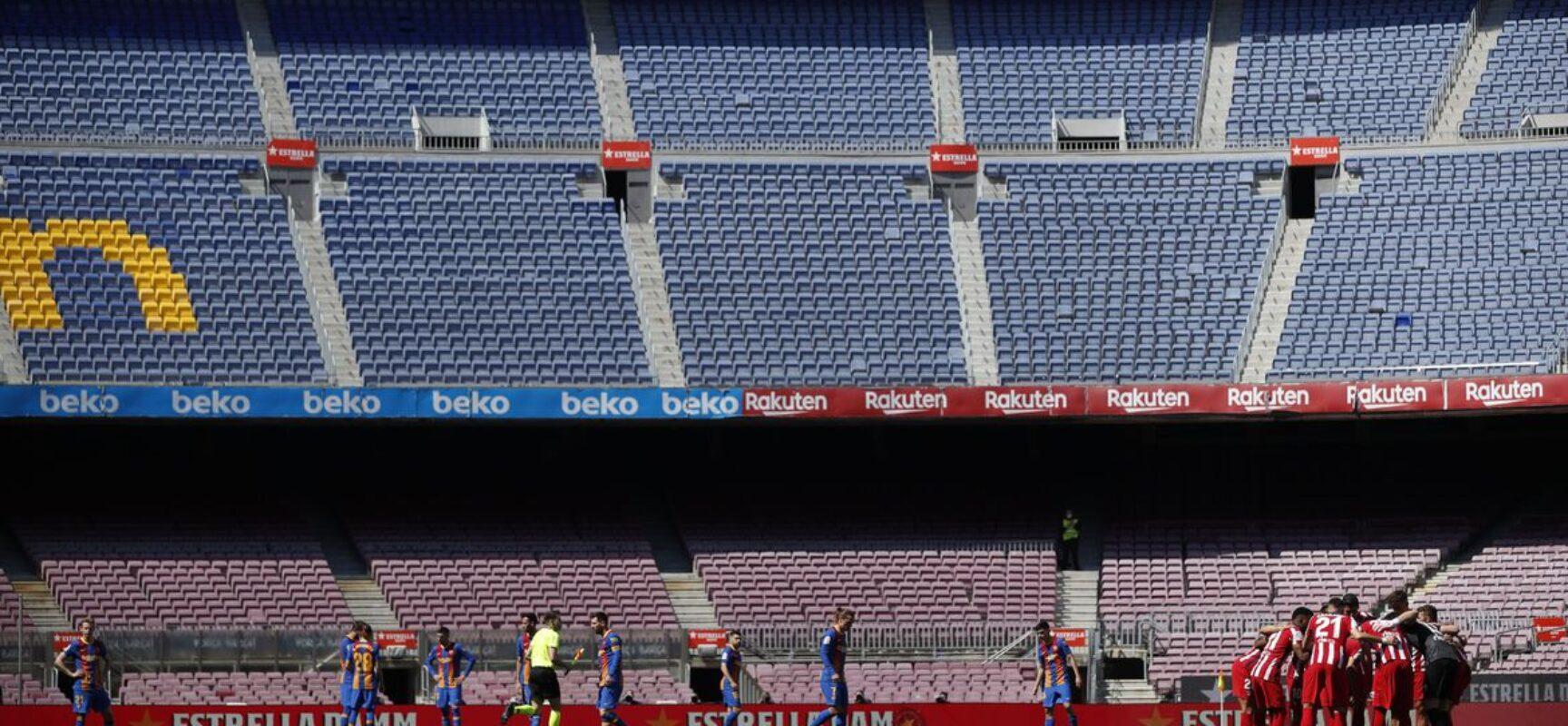 Espanha vai permitir volta de torcida aos estádios em algumas regiões
