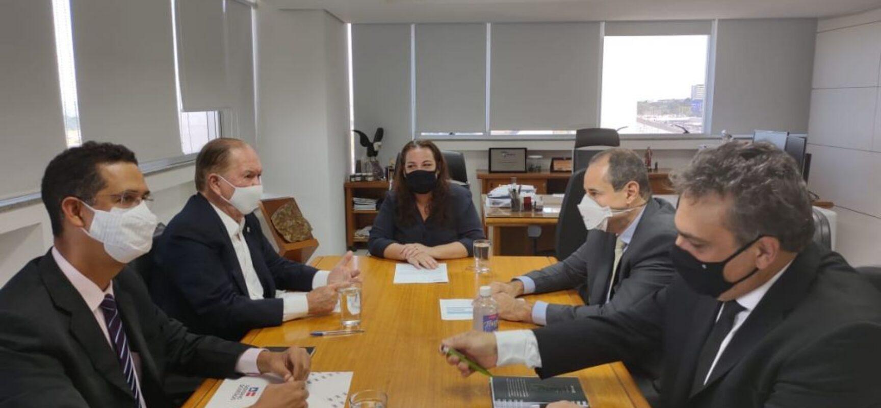 Governo da Bahia e ANM devem firmar parcerias