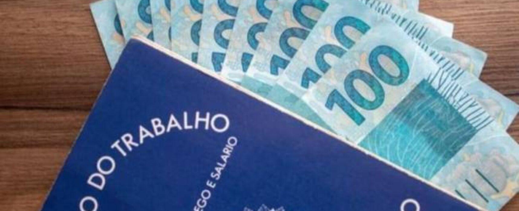 Governo libera novo salário mínimo para 2022, 2023 e 2024
