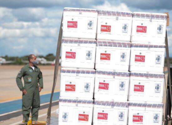 Ministério da Saúde anuncia vacinação de portuários e aeroviários