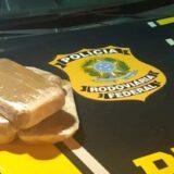 Mulher é presa ao ser flagrada com pasta base de cocaína avaliada em R$ 600 mil na Chapada Diamantina