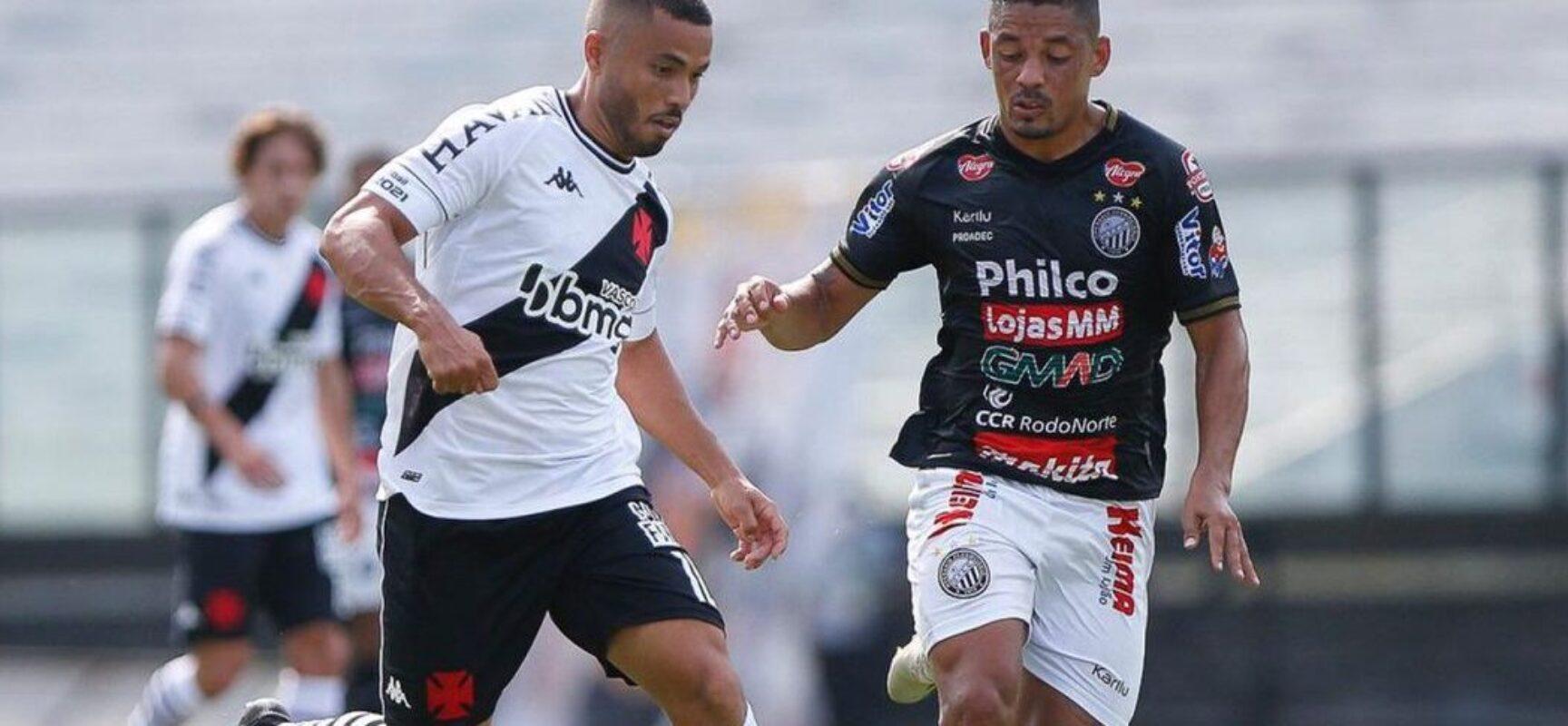Operário-PR surpreende Vasco e vence em São Januário pela Série B