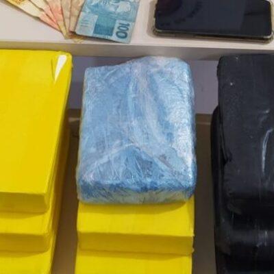 Polícia localiza 7 kg de pasta-base de cocaína enterrados no fundo de bar