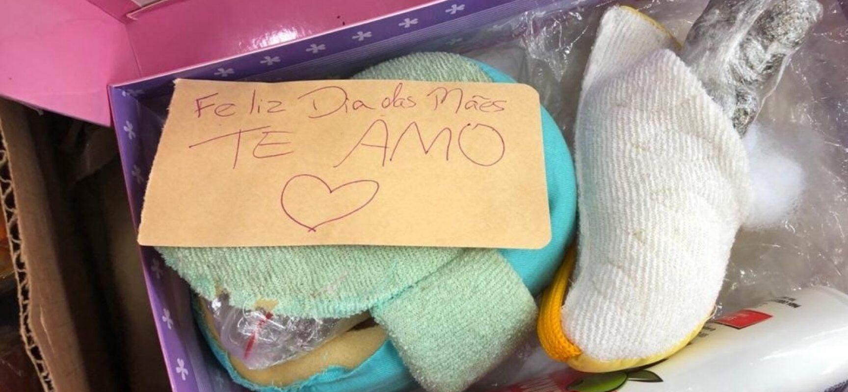 Polícia apreende droga escondida em falso presente de Dia das Mães