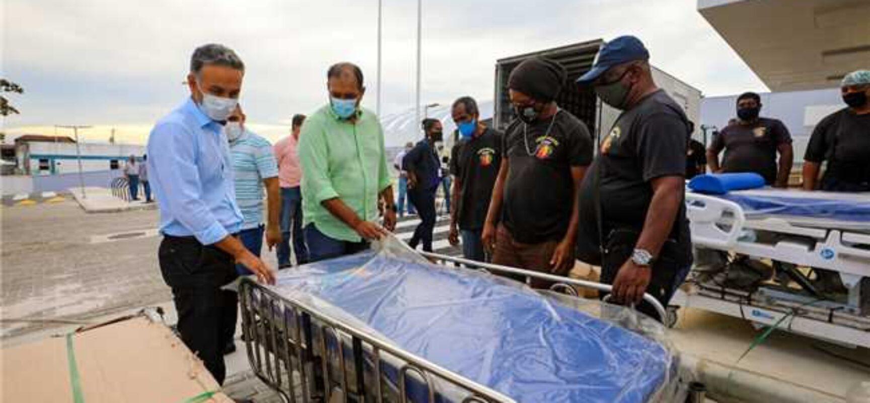 Prefeito acompanha entrega de equipamentos para Hospital Materno-Infantil de Ilhéus