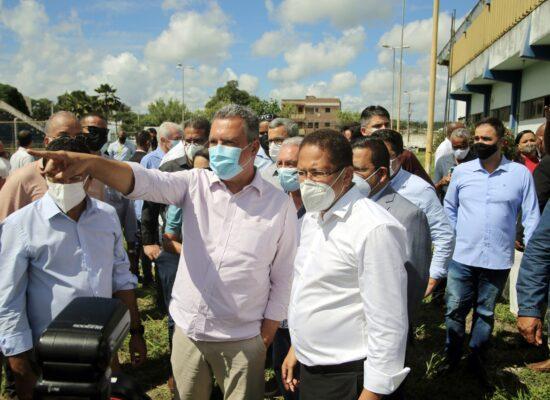 Prefeito Augusto Castro destaca obras relevantes anunciadas pelo Governo do Estado