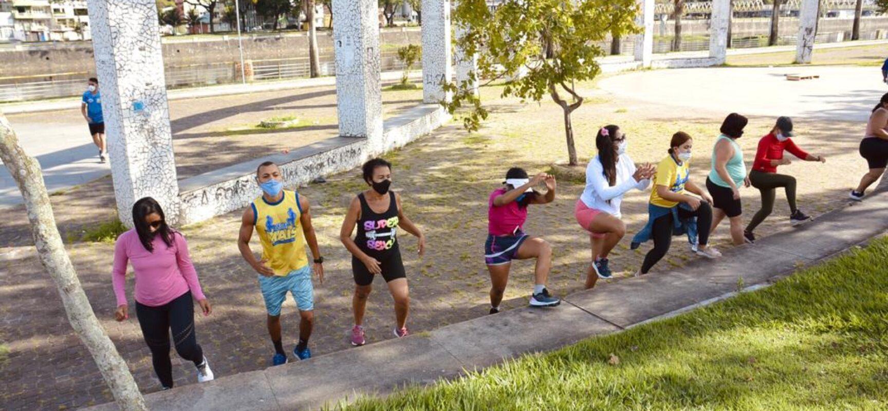 Prefeitura leva atividades esportivas para a Avenida Beira-rio domingo em Itabuna