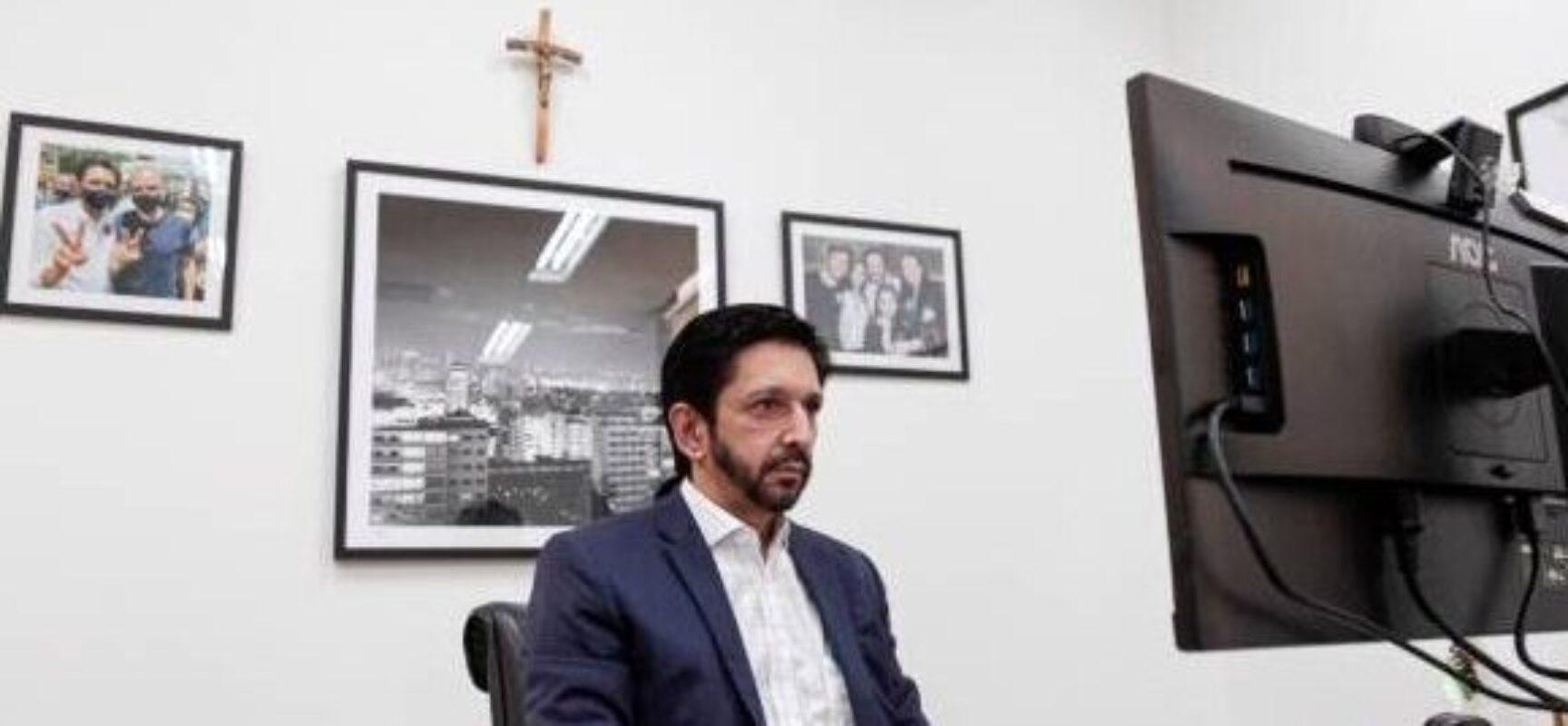 Ricardo Nunes é empossado prefeito de SP após morte de Covas