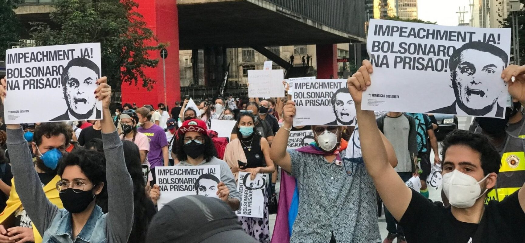 Após caso Covaxin, próximo ato contra Bolsonaro é antecipado para 3 de julho