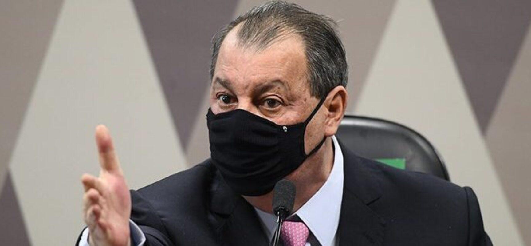 """Após depoimentos na CPI da Covid, senador diz que """"já estão praticamente comprovados"""" crimes contra vida"""
