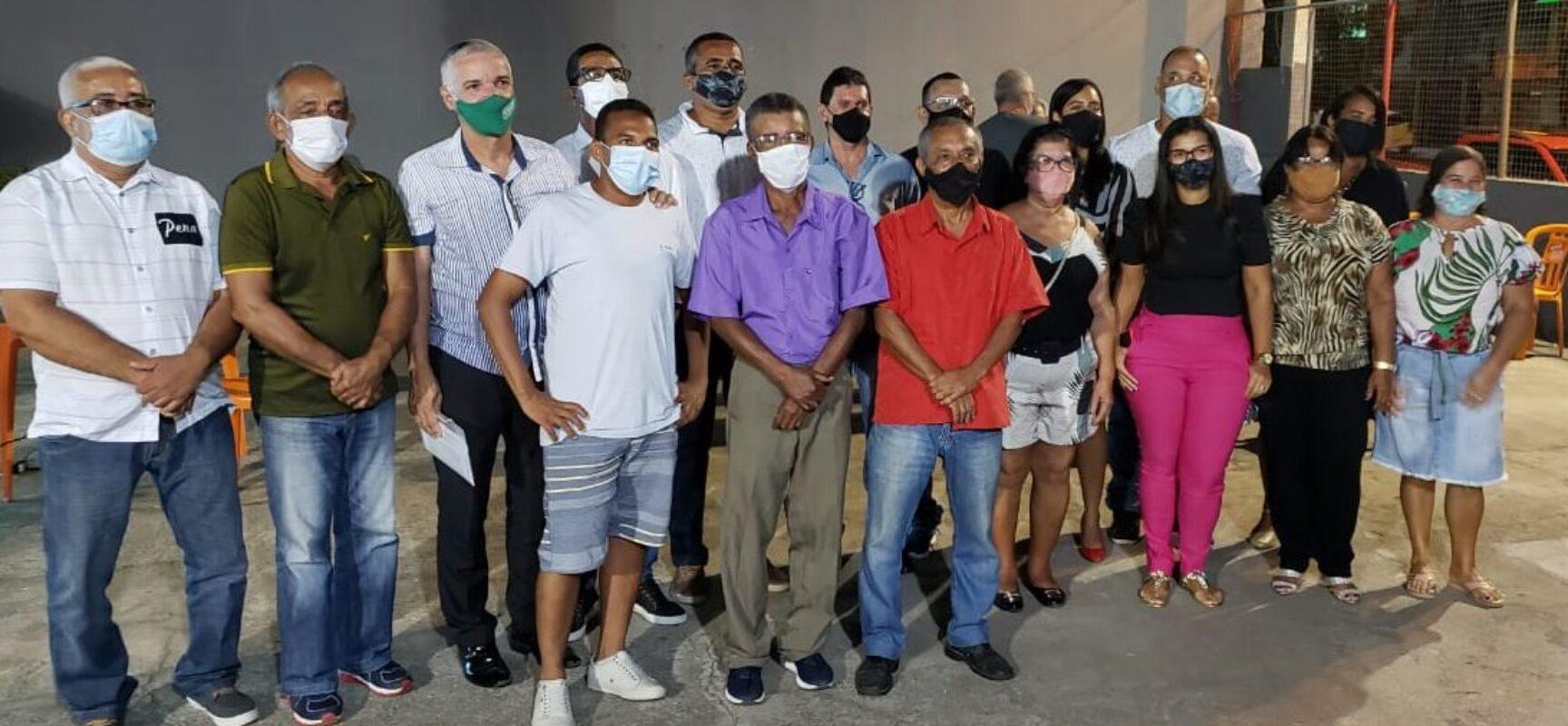 Associação de Moradores do Bairro Hernani Sá: Empossada a nova diretoria