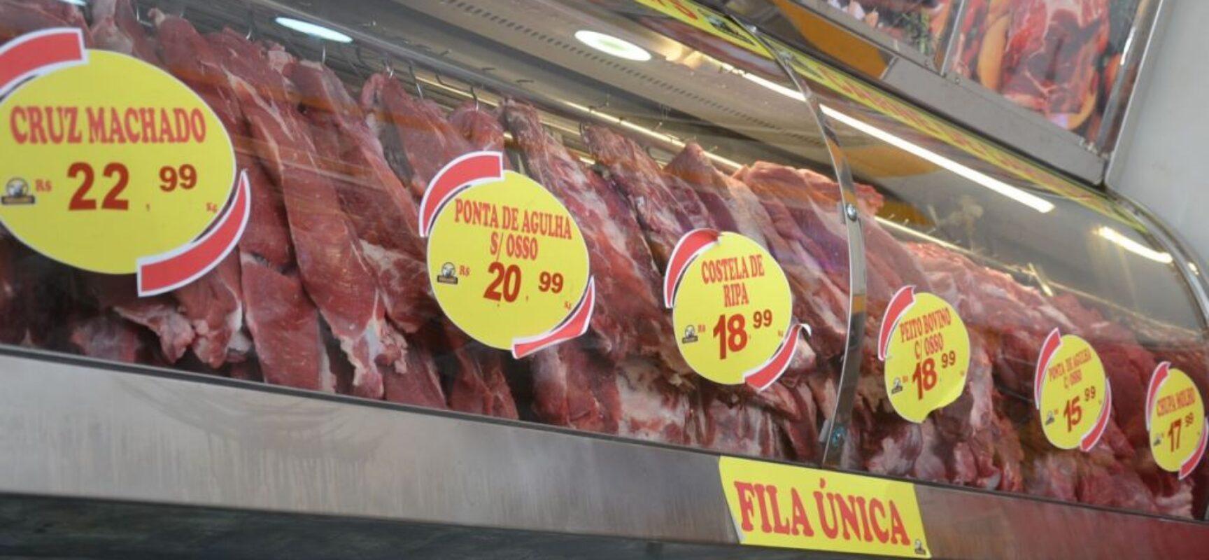 Consumo de carne no Brasil é o menor desde 1996
