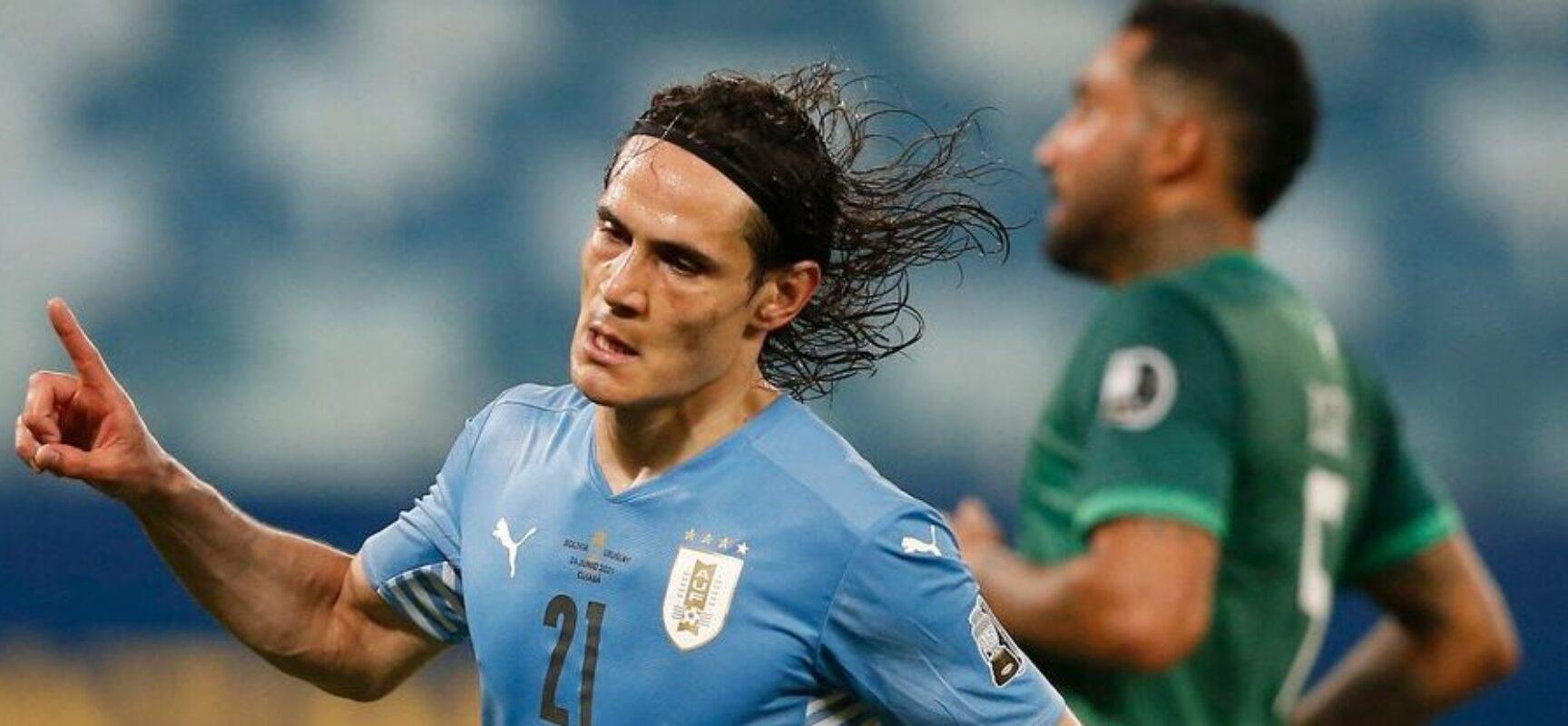 Copa América: Uruguai derrota Bolívia e avança para quartas