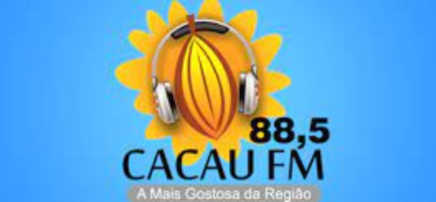 IBICARAÍ: Derrubaram a torre da CACAU FM